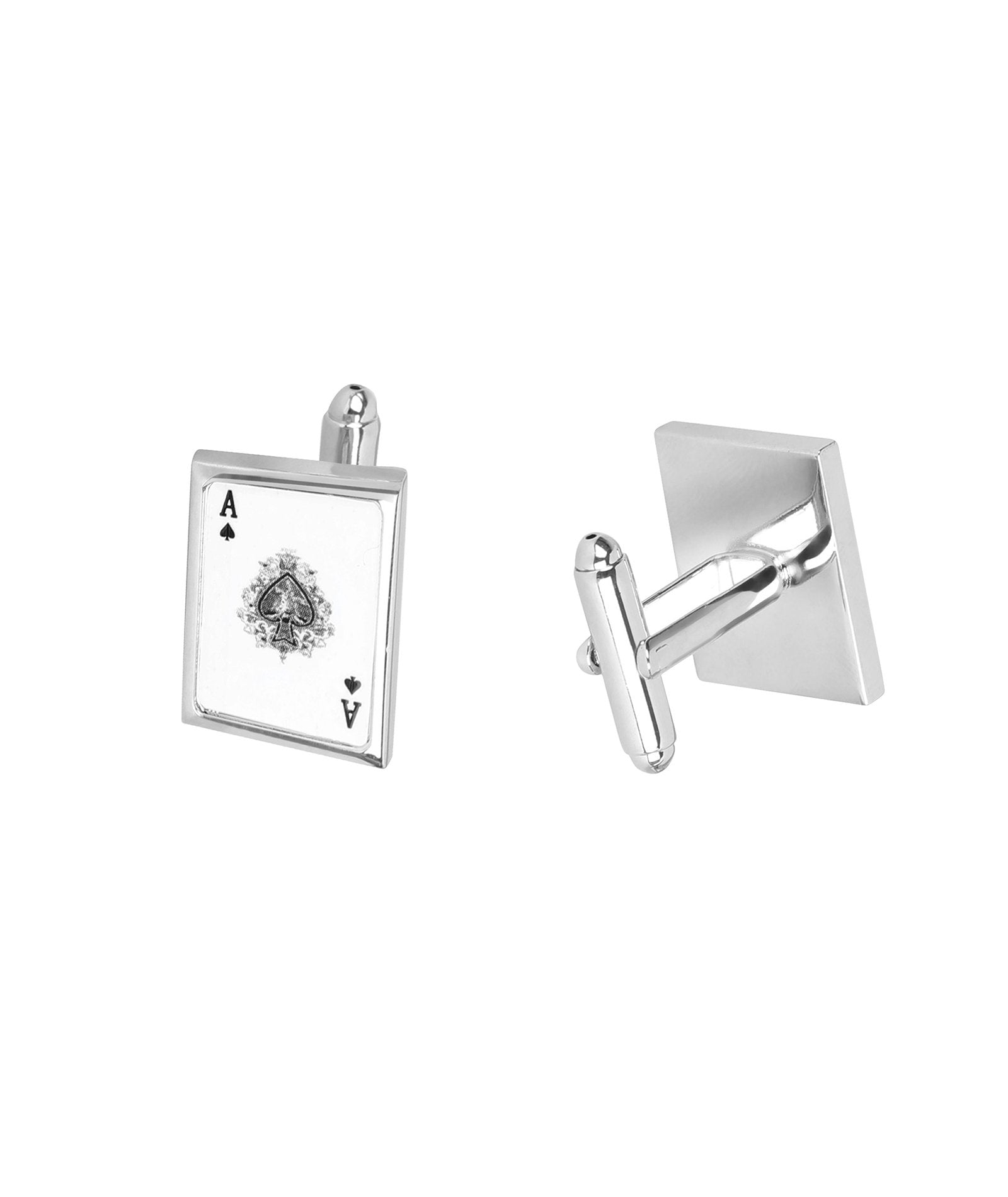 Ace King Card Cufflink