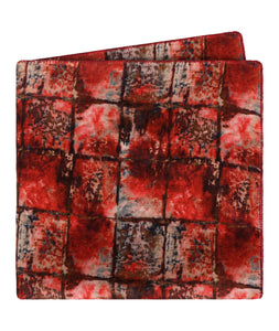 Blood Bricks Pocket Square