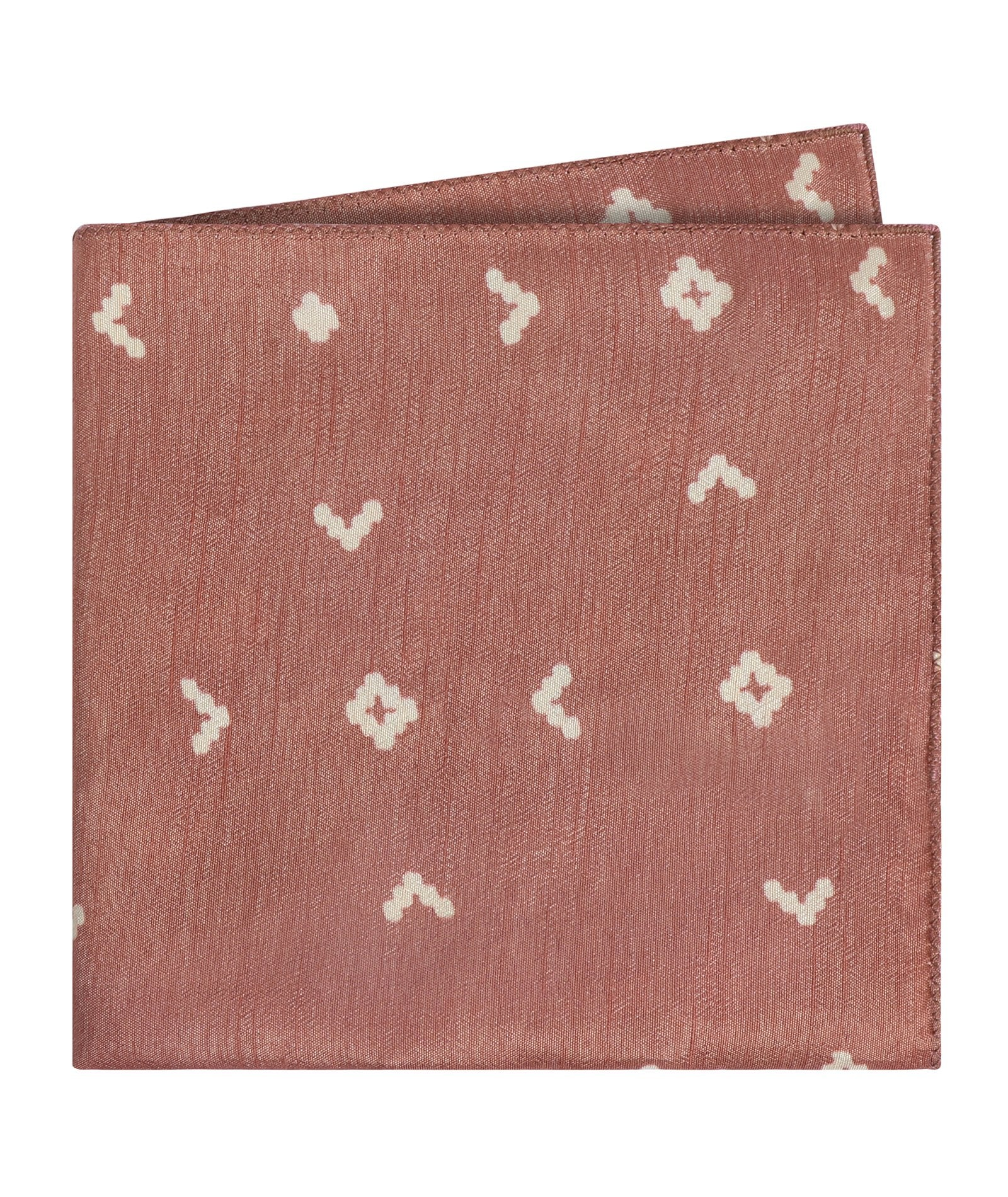 Copper Codes Pocket Square