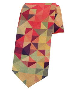 Psychedelic Shades of Pink Tie