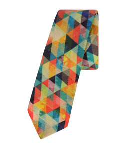 Psychedelic Triangles Tie