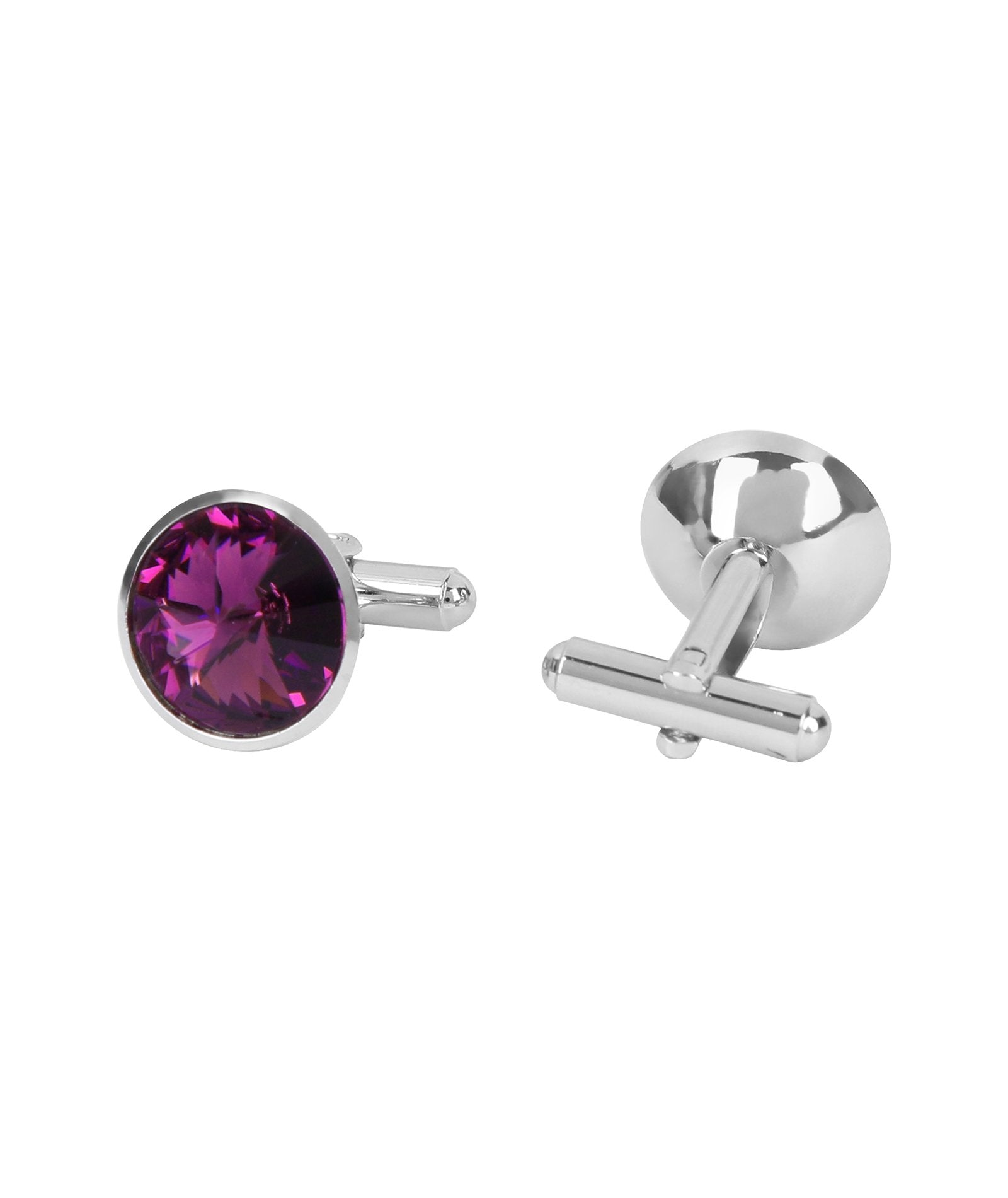 Purple Gemstone Cufflink
