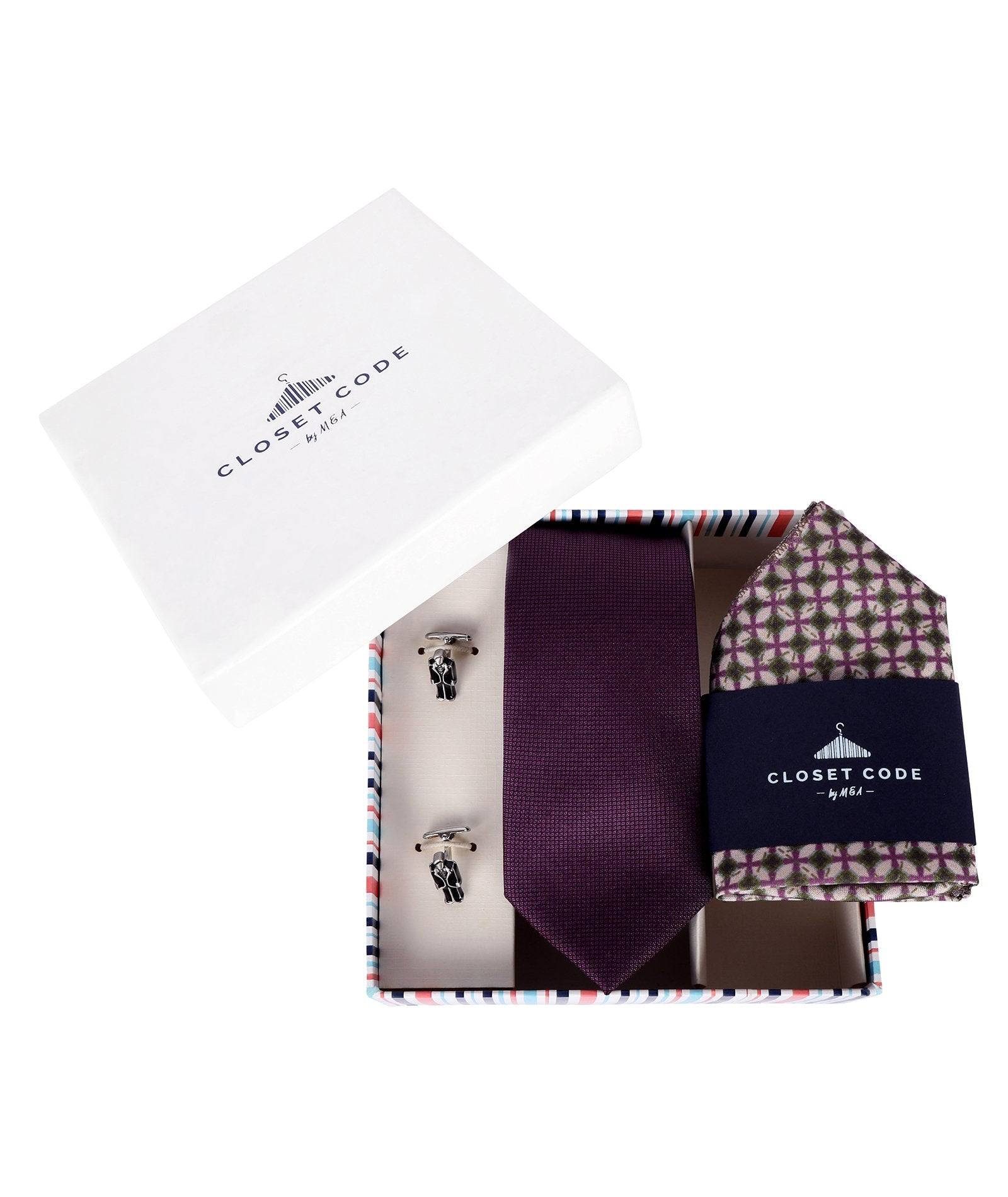Purple Shimmer Dapper Man Gift Set