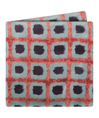 Spotted Squares Pocket Square