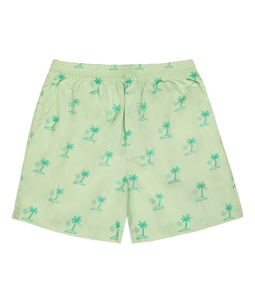 Set of 3 boxers - Genie, Coconut Tree, Sail Boat