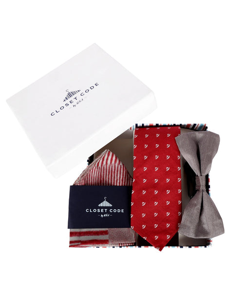 The Red-Grey Sail Away Gift Set