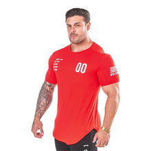 Load image into Gallery viewer, 2019 New Plain Clothing fitness t shirt men O-neck t-shirt cotton bodybuilding tee shirts tops gyms tshirt Homme