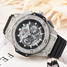Load image into Gallery viewer, FOSSIL Luxury Men Watch Fashion AAA Quartz Watches with Silicone Watch for Men Wristwatch relojes para hombre