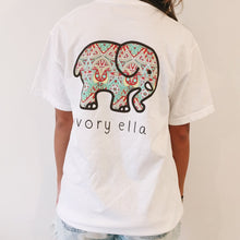 Load image into Gallery viewer, MSAISS  Elephant Printed T Shirt Women Summer Animal Short Sleeve Tshirts T-Shirt Girl Casual Tops