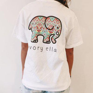 MSAISS  Elephant Printed T Shirt Women Summer Animal Short Sleeve Tshirts T-Shirt Girl Casual Tops