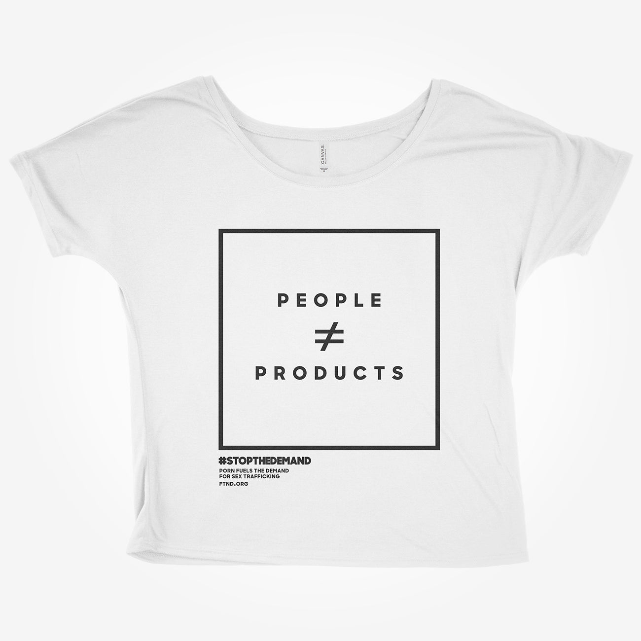 'People ≠ Products' - Slouchy