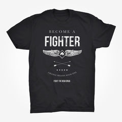 'Become A Fighter' Tee