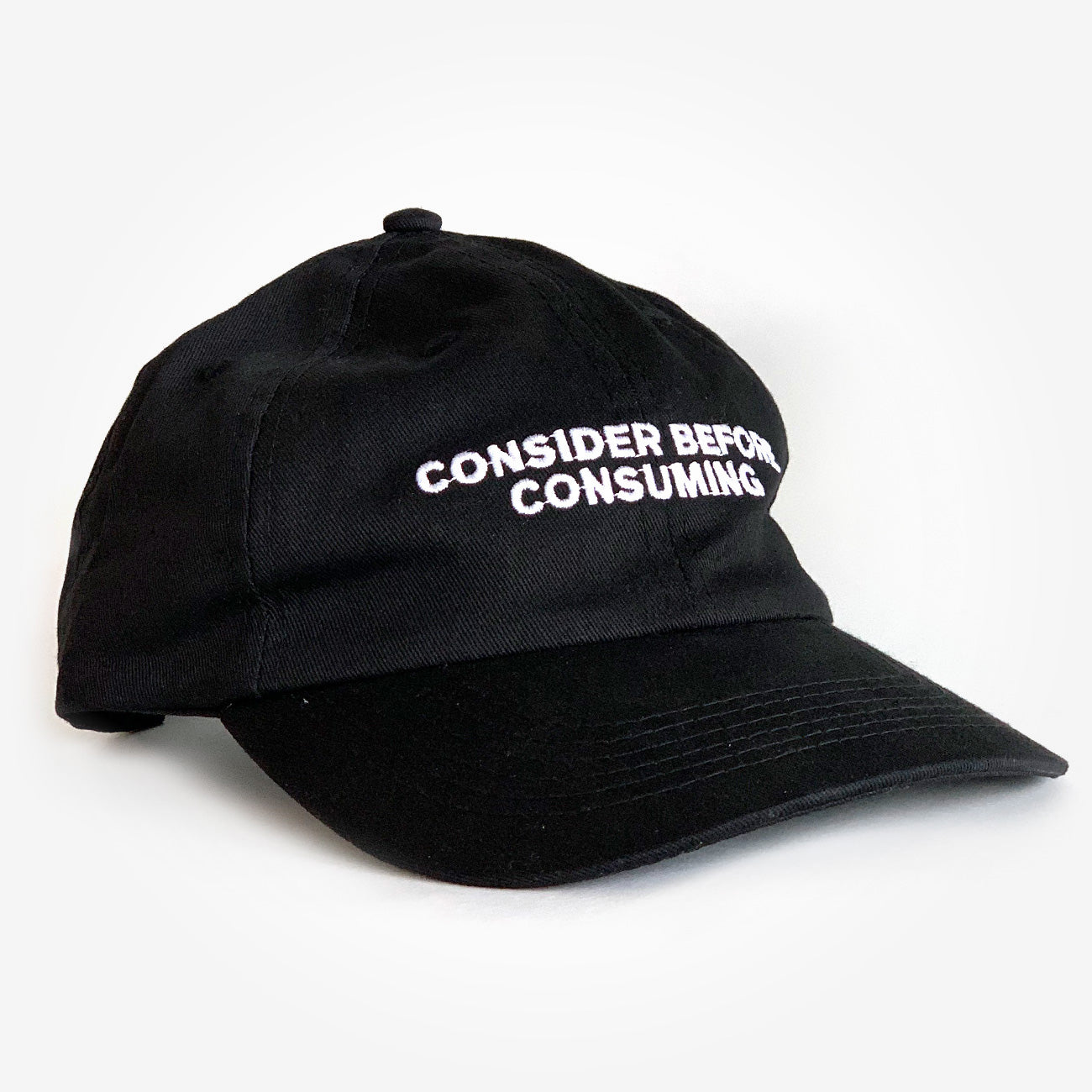 'Consider Before Consuming' Dad Hat