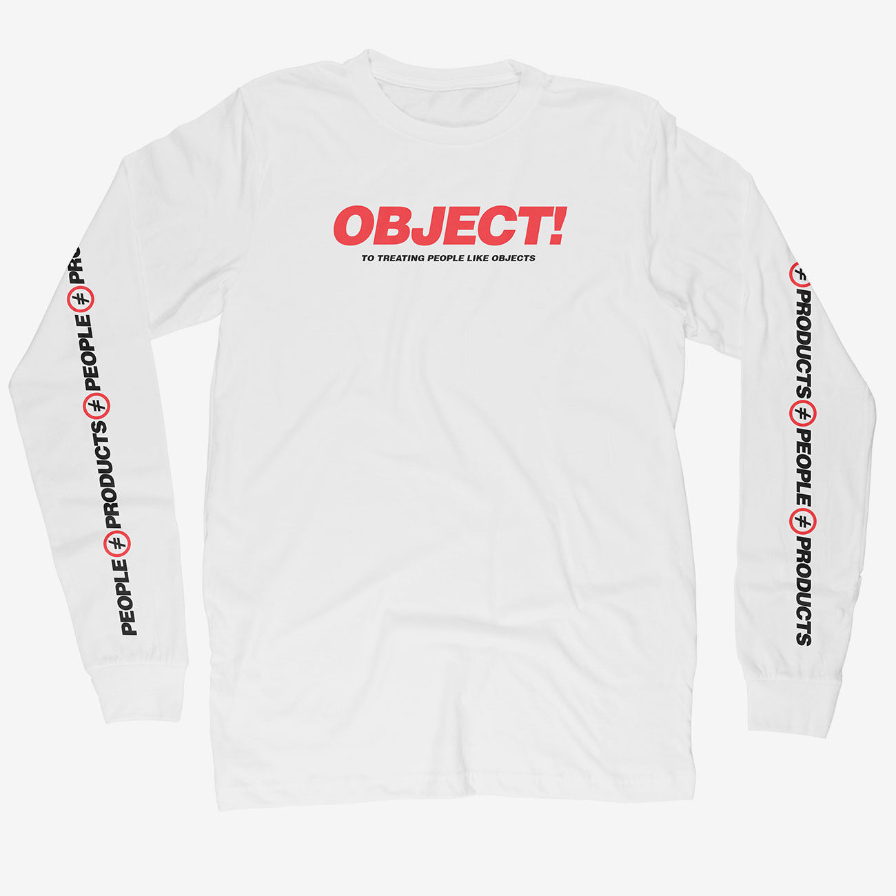 'Object!' - Long Sleeve