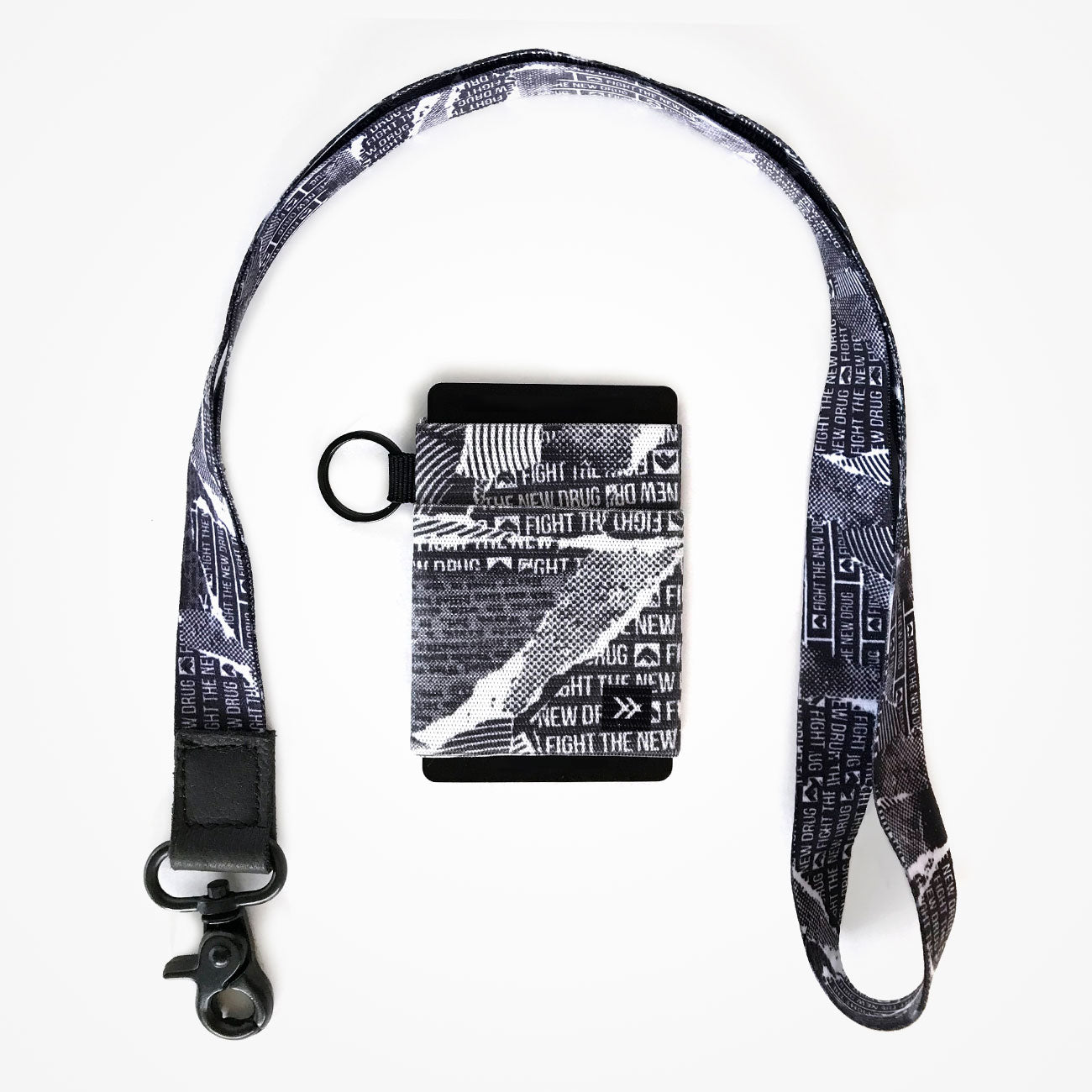 Thread Wallet + Lanyard