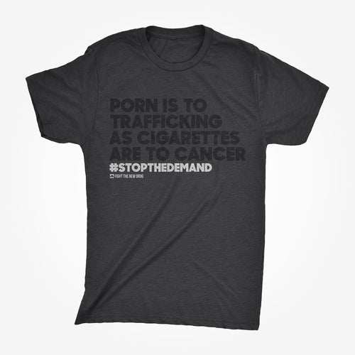 'Porn Is To Trafficking' Tee