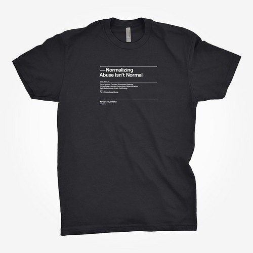 'Normalizing Abuse Isn't Normal' Tee