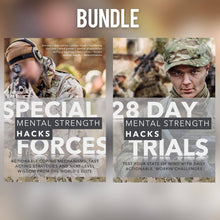 Load image into Gallery viewer, Special Forces Mental Strength Hacks & 28 Day Mental Strength Challenges Bundle