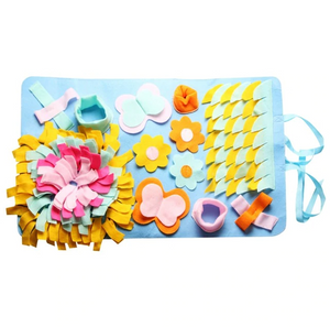 Floral Frenzy Snuffle Mat