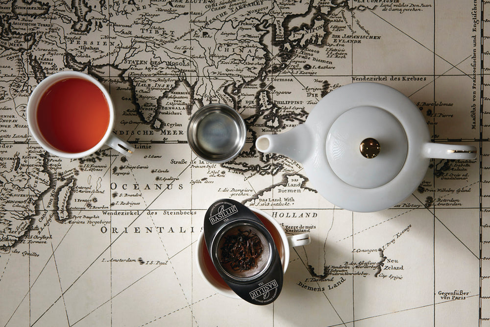 The different regions from where the finest Ceylon Tea is sourced!