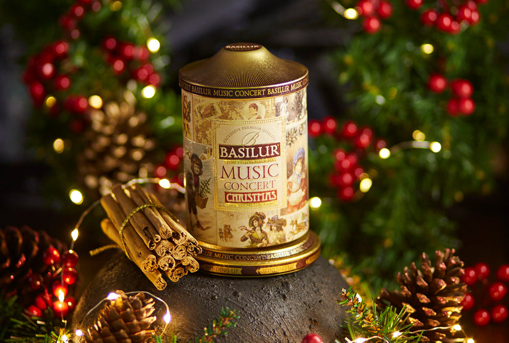 The perfect cup of Basilur Tea to keep you warm this Christmas