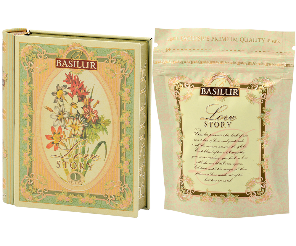 Miniature Tea Book 'Love Story' Volume I