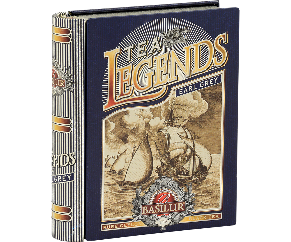 Miniature Tea Book Tea Legends - Earl Grey