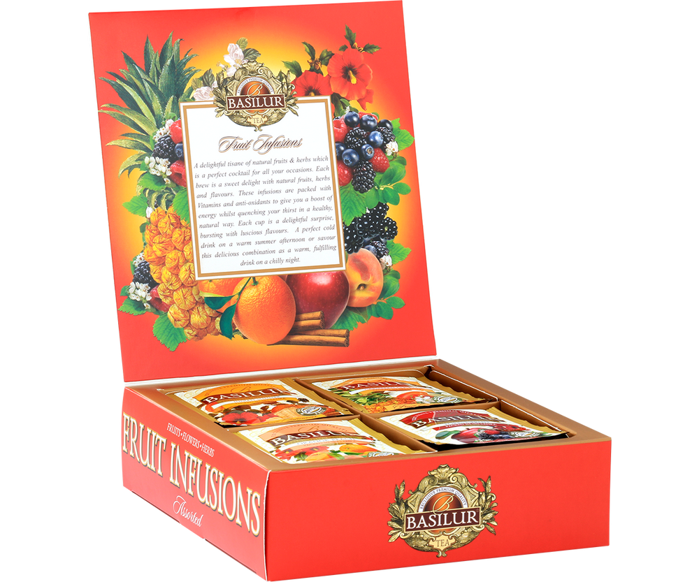 Assorted Fruit Infusions - 40 Envelopes