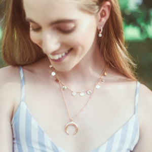 Crescent Necklace - timesreel