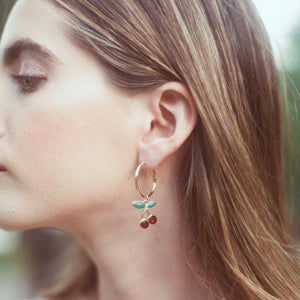 Cherry Earrings - timesreel