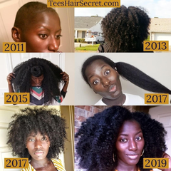 Tee's Hair Secret hair journey