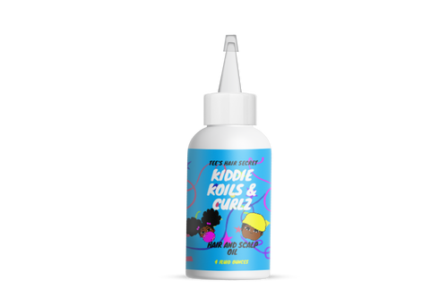 Kiddie Koils and Curlz Hair and Scalp Oil - Tees Hair Secret