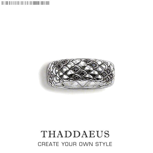 Snake Ring, Thomas Vintage Style good jewelry for girls women, 2020 Summer brand new Ts 925 Sterling silver gift, great deals