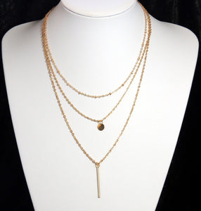 collier 3 chaines
