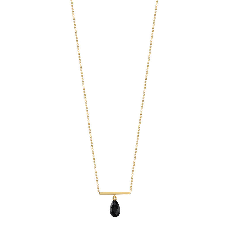 collier femme onyx
