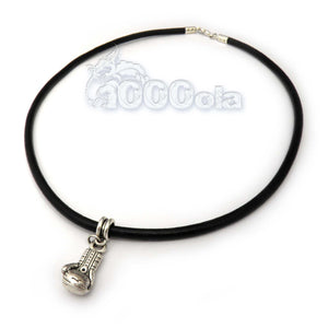 collier homme fil