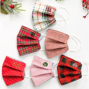 Holiday Masks, Buffalo Plaid
