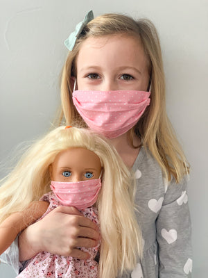 Matching Mask Set - Child & Doll Size