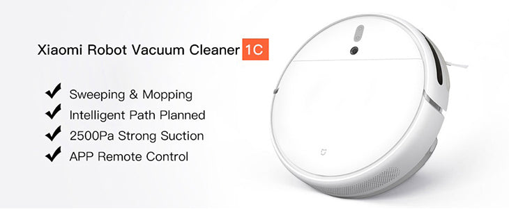 Xiaomi Robot Vacuum 1C Features