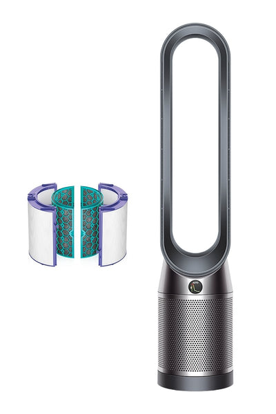 Dyson Pure Cool Air Purifier (Advanced Technology), Wi-fi & Bluetooth Enabled, Tower TP04 (White/Silver) - RobotCompany