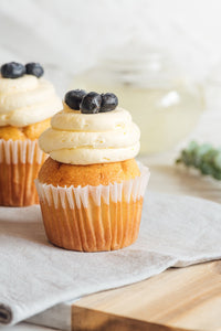 Cupcake de Blueberry and Maple