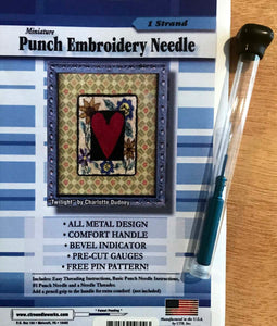 1-Strand CTR Needleworks Punch Needle Set