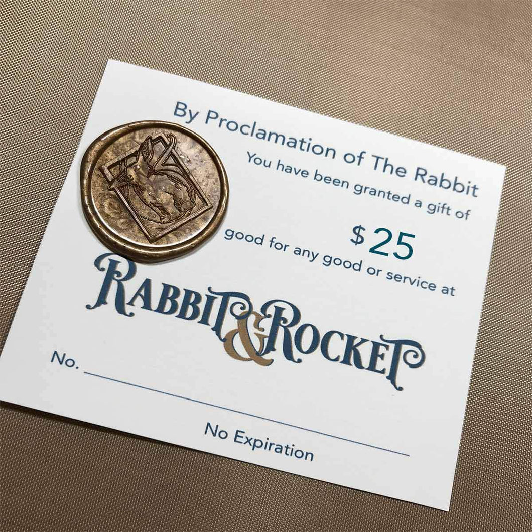 Rabbit & Rocket Gift Card