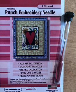 3-Strand CTR Needleworks Punch Needle Set