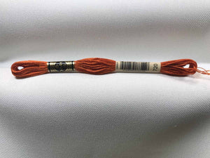 DMC 720 - Six Strand Embroidery Floss