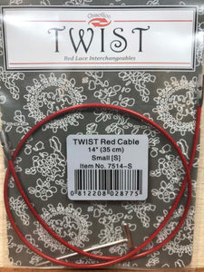 ChiaoGoo Twist Interchangeable 14-inch Cable - SMALL