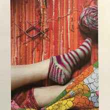 Load image into Gallery viewer, Laura Regan Sock Kit - Sand Dune, Moss Green, Chili