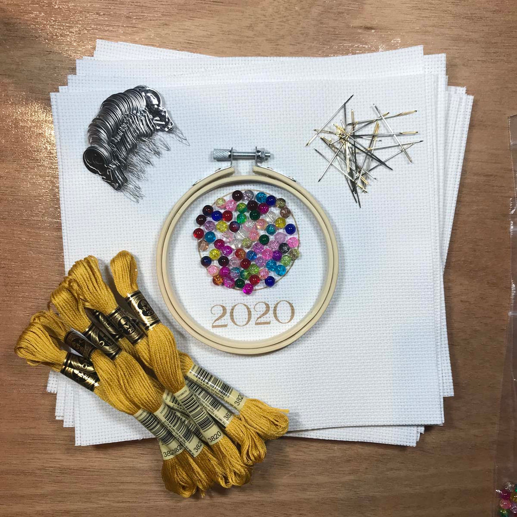 Glass Town Countdown 2020 Kit