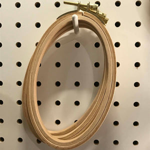 5.5-inch Beech Wood Oval Hoop
