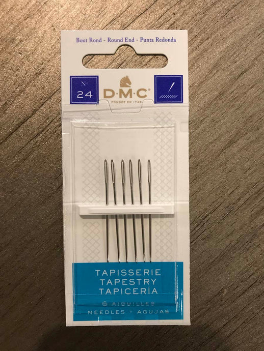 DMC Tapestry | Cross Stitch Needles - Size 24
